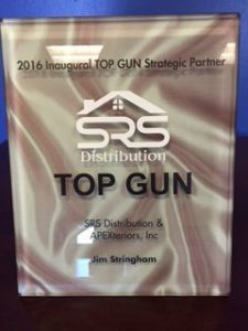 SRS 2016 Inaugural TOP GUN Strategic Partner